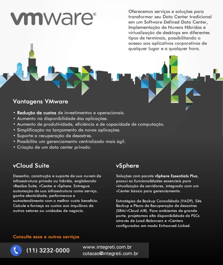 vmware-servicos